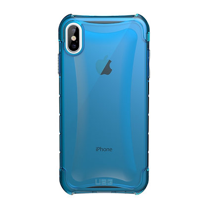 "UAG iPhone Xs Max 6.5"" Plyo Case, Glacier (blue transparent)"