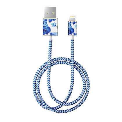 iDeal Of Sweden Fashion Lightning Cable, 2M Baby Blue Orchid