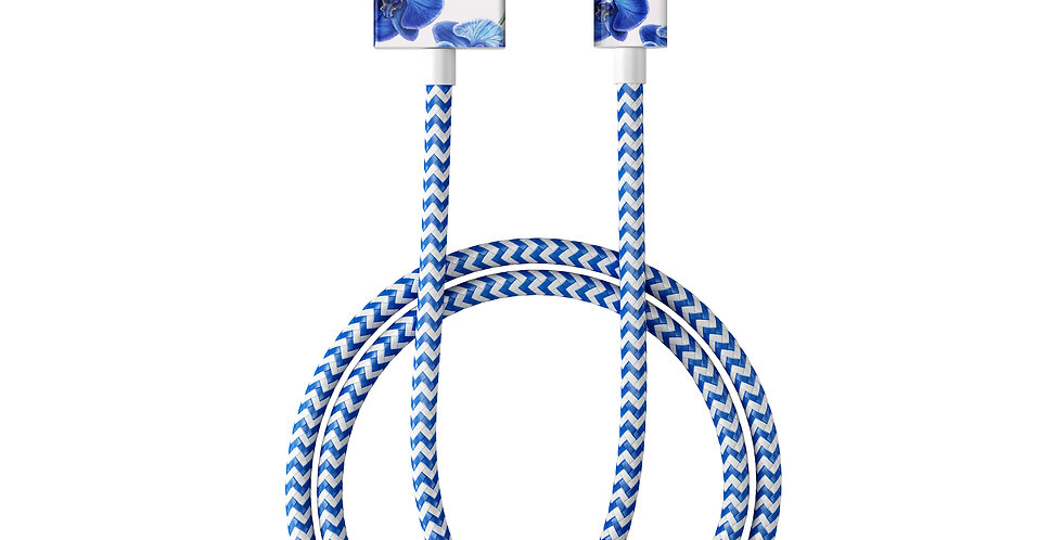 iDeal Of Sweden Fashion Lightning Cable (MFI), 2M Baby Blue Orchid