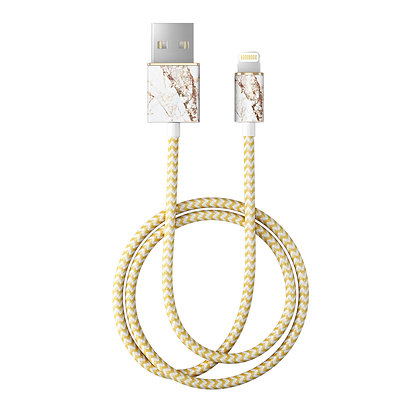 iDeal Of Sweden Fashion Lightning Cable, 2M Carrara Gold