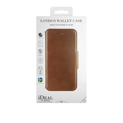 iDeal Of Sweden London Wallet Case iPhone 8/7/6/6s, Brown