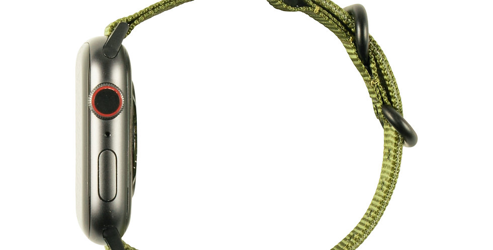 UAG Apple Watch (44mm | 42mm) Nato Strap, Olive Drab