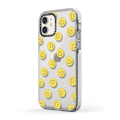 Casetify Impact Case iPhone 11, Frost Happy Town