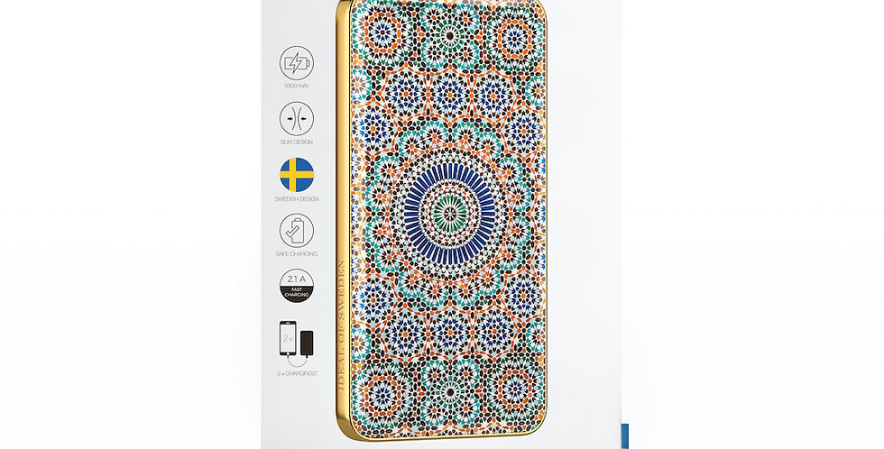iDeal Of Sweden Fashion Power Bank Li-Polymer, Moroccan Zellige
