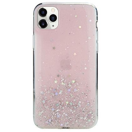 SwitchEasy iPhone 11 Pro Max Starfield PC+TPU Case, Transparent Rose