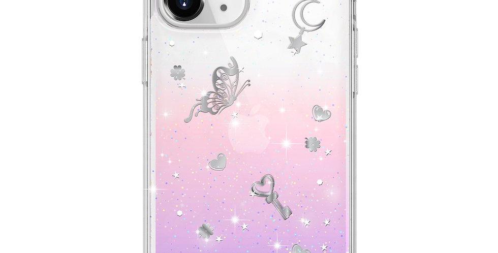 "SwitchEasy iPhone 12/Pro 6.1"" Lucky Tracy PC+TPU Case, Twilight"