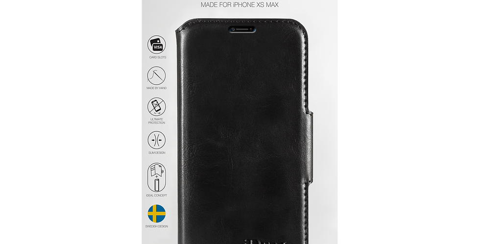 iDeal Of Sweden iPhone Xs Max London Wallet, Black