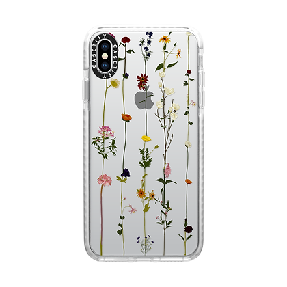 Casetify Impact Case iPhone X/Xs, Frost Floral