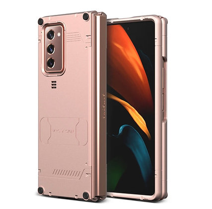 VRS Design Samsung Galaxy Z Fold 2 Hard Drop Active Case, Mystic Bronze