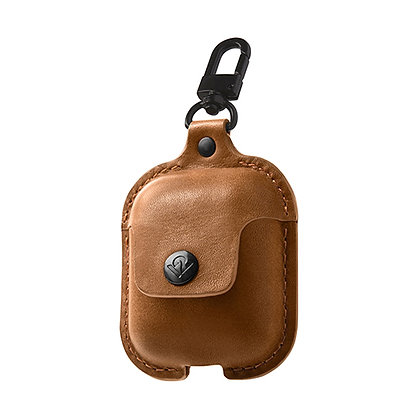 Twelve South AirSnap for AirPods (cognac)