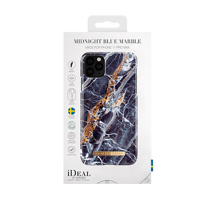 iDeal Of Sweden Fashion Case iPhone 11 Pro Max, Midnight Blue Marble