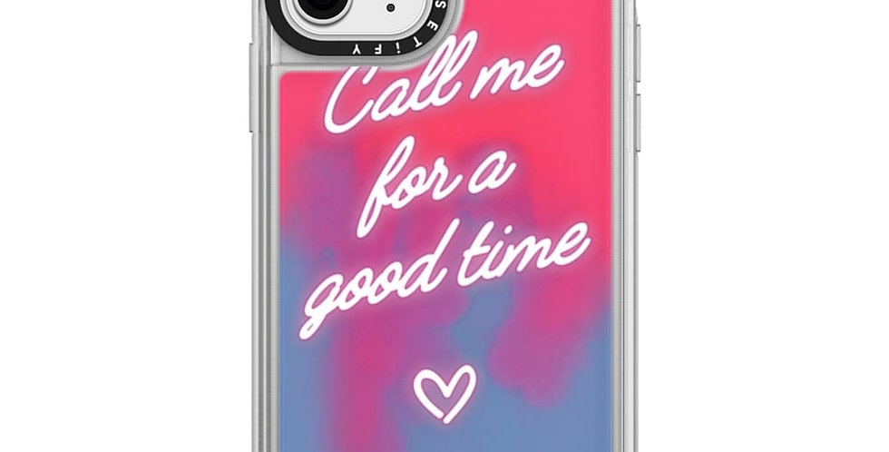 Casetify iPhone 11 Pro Neon Sand Case, The Booty Call Naked