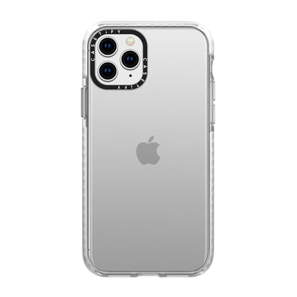 Casetify Impact Case iPhone 11 Pro Max, Frost Clear
