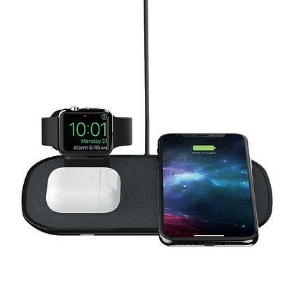 Mophie Wireless Charging Pad 3-in-1, Black