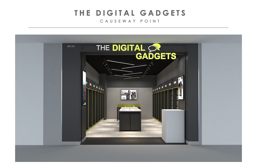 3D artwork for The Digital Gadgets | Causeway Point