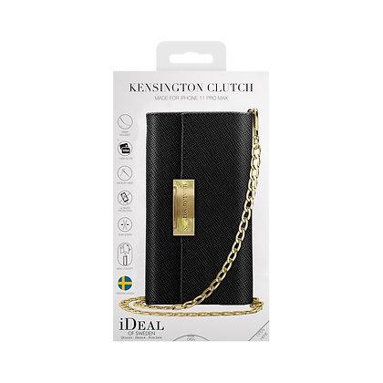 iDeal Of Sweden Kensington Crossbody Clutch iPhone 11 Pro Max, Black