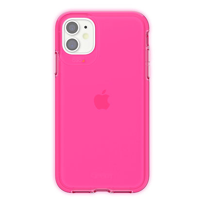 Gear4 Crystal Palace iPhone 11 Case, Neon Pink