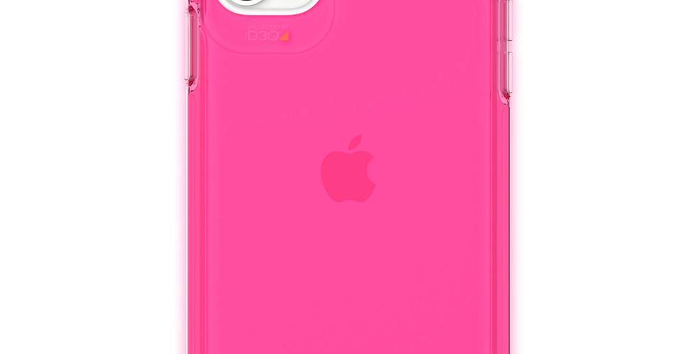 Gear4 iPhone 11 Crystal Palace, Neon Pink
