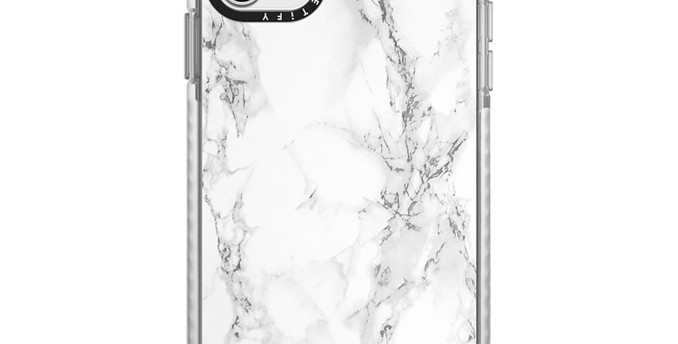 Casetify iPhone 11 Pro Max Impact Case, White Marble