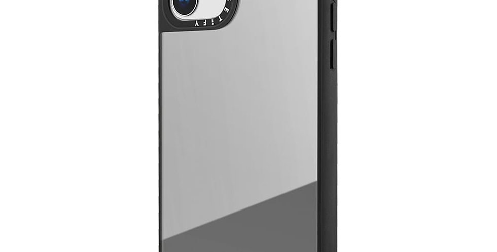 Casetify Mirror Case iPhone 11, Silver