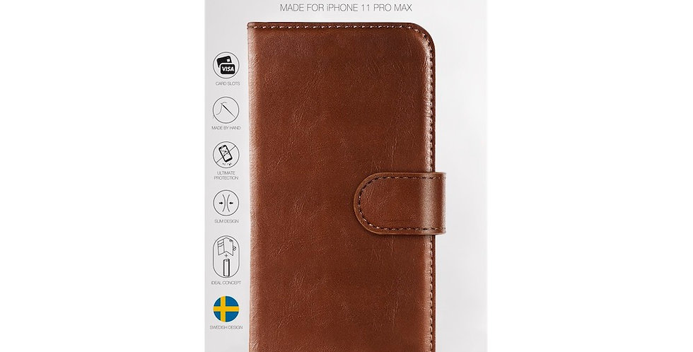 iDeal Of Sweden 11 Pro Max Magnet Wallet Plus, Brown