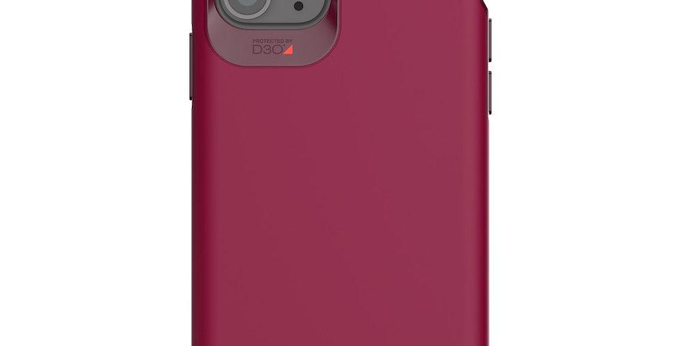 Gear4 Holborn iPhone 11 Pro Max Case, Burgundy