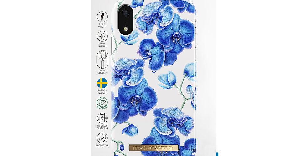 iDeal Of Sweden iPhone XR Fashion Case S/S 2018, Baby Blue Orchid