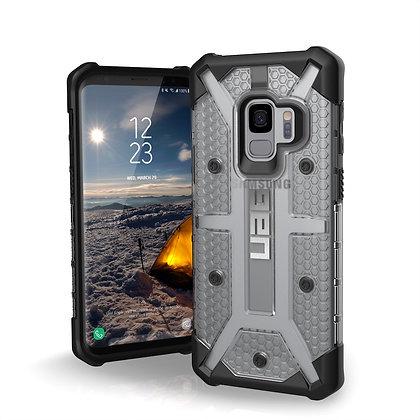 UAG Samsung Galaxy S9 Plasma Case, Ice/Black (Transparent)