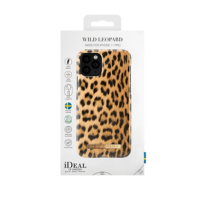 iDeal Of Sweden Fashion Case 2019 iPhone 11 Pro, Wild Leopard