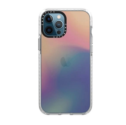 "Casetify iPhone 12 Pro Max 6.7"" Impact Case, Sheer-Iridescent"