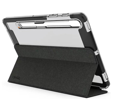Gear4 Samsung Tab S7 Brompton Case with Removable Folio Cover Smoke