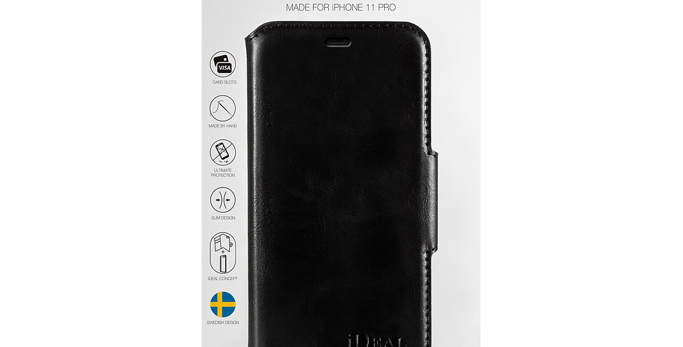 iDeal Of Sweden 11 Pro London Wallet Case, Black