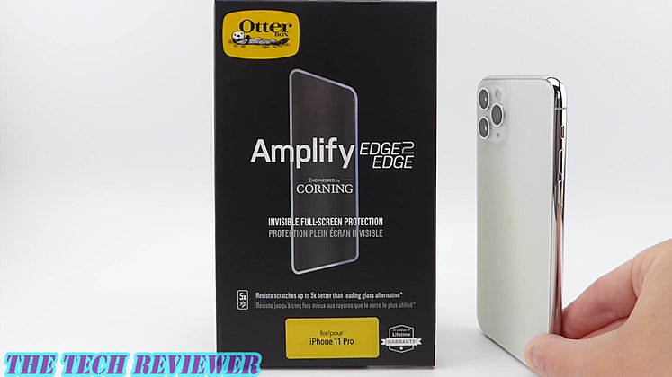 OtterBox Amplify Glass Edge2Edge iPhone 11 Pro Max, Clear