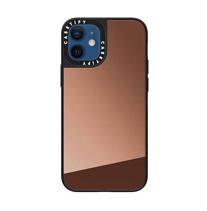 "Casetify iPhone 12 mini 5.4"" Mirror Case, Bronze"