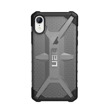 UAG iPhone XR Plasma Case, Ash (Grey Transparent)
