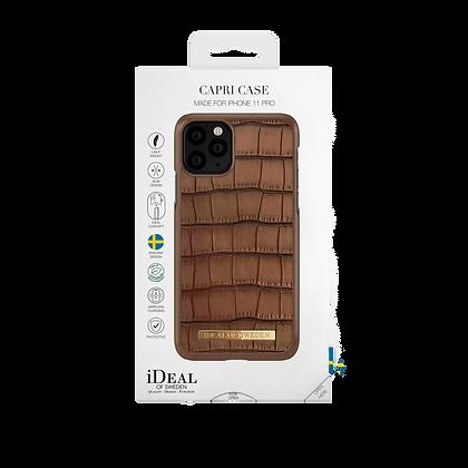 iDeal Of Sweden Fashion Case Capri iPhone 11 Pro, Brown