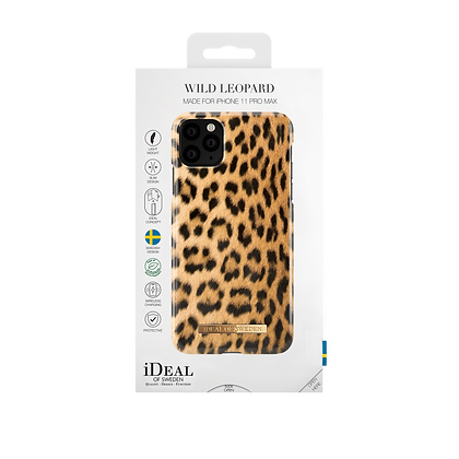 iDeal Of Sweden Fashion Case 2019 iPhone 11 Pro Max, Wild Leopard
