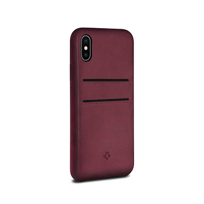 Twelve South Relaxed Leather with Pockets iPhone X/Xs, Marsala