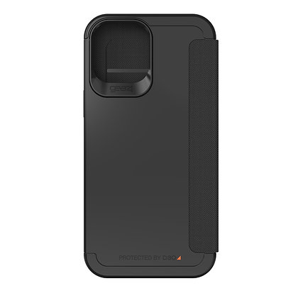 "Gear4 iPhone 12 Pro Max 6.7"" D3O Wembley Flip, Black"