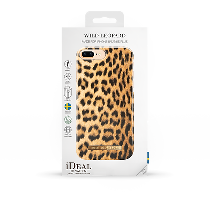 iDeal Of Sweden Fashion Case iPhone 8/7/6/6s Plus, Wild Leopard