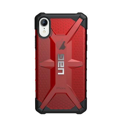 UAG iPhone XR Plasma Case, Magma (Red Transparent)