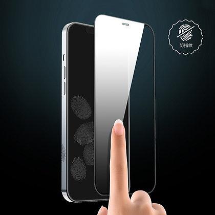 "Devia iPhone 12 & 12 Pro 6.1"" Tempered Glass, Anti-Glare Black"