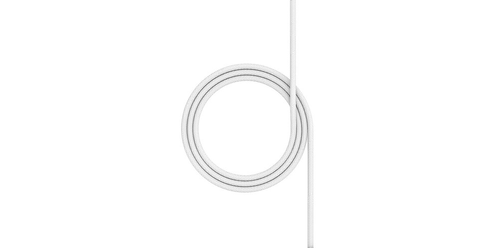 Mophie Charging Cable 1m, White