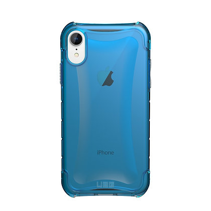 UAG iPhone XR Plyo Case, Glacier (Blue transparent)