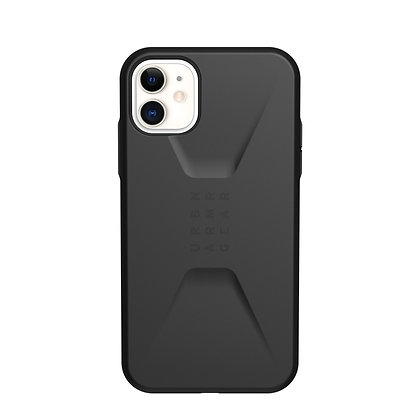 "UAG iPhone 11 6.1"" Civilian Case Black"