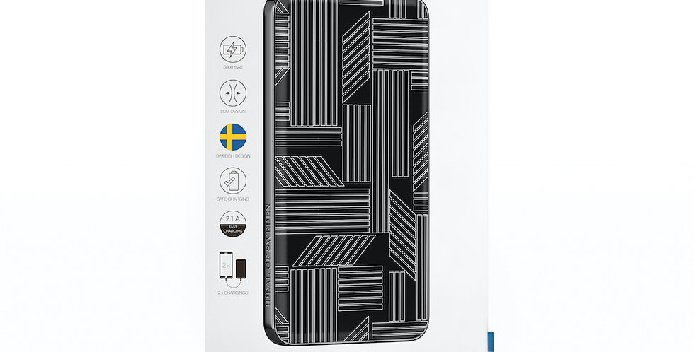 iDeal Of Sweden Fashion Power Bank Li-Polymer, Geometic Puzzle