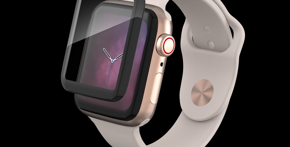 InvisibleShield Apple Watch Series 6 | SE | 5 | 4 (40mm) Glass Curve Elite