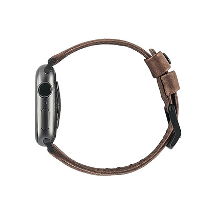 UAG Apple Watch (44mm/42mm) Leather Strap, Brown