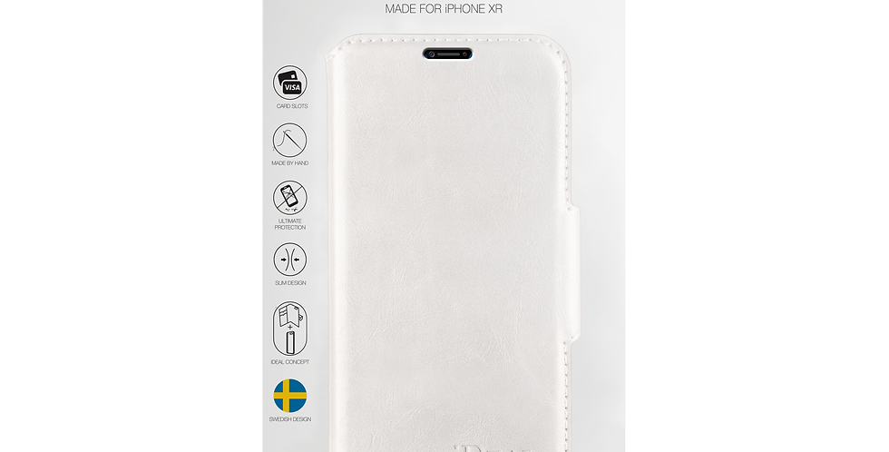iDeal Of Sweden iPhone XR London Wallet, White