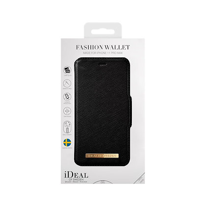 iDeal Of Sweden Fashion Wallet iPhone 11 Pro Max, Black